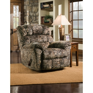 Simmons Upholstery Conceal Recliner  sc 1 st  Overstock.com & Big and Tall 350-pound Capacity Camouflaged Encore Conceal Brown ... islam-shia.org