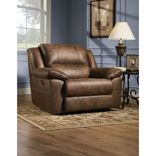 Simmons Upholstery Shiloh Cuddler  sc 1 st  Overstock.com & Simmons Upholstery Phoenix Mocha Cuddler Recliner - Free Shipping ... islam-shia.org
