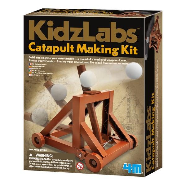 4M KidzLabs Plastic Catapult Making Kit