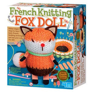 Toysmith French Knitting Fox Doll Kit|https://ak1.ostkcdn.com/images/products/14329207/P20908445.jpg?impolicy=medium