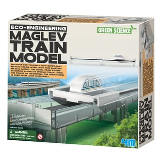 4M Eco-Engineering Maglev Plastic Magnetic Train Model