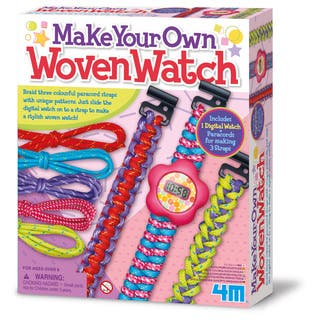 Toysmith 4M Make Your Own Woven Watch Kit|https://ak1.ostkcdn.com/images/products/14329217/P20908448.jpg?impolicy=medium