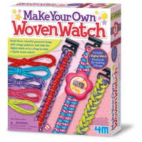 Toysmith 4M Make Your Own Woven Watch Kit