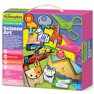 4M Thinking Kits Creative Hands Scissor Art