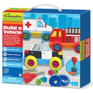 4M Thinking Kits STEM Build A Vehicle Set