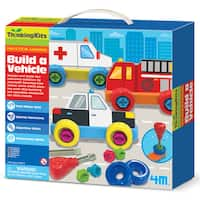 4M Thinking Kits STEM Build A Vehicle Set