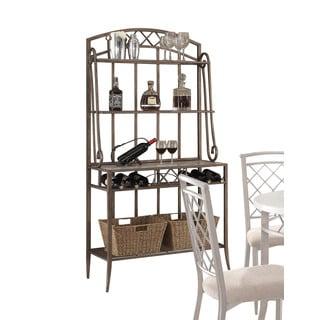 Acme Furniture Aldric Faux Marble Antique Style Baker's Rack