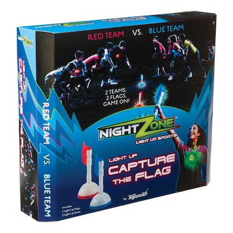 Toysmith NightZone Capture the Flag Game - Multi-Colored - Not Applicable