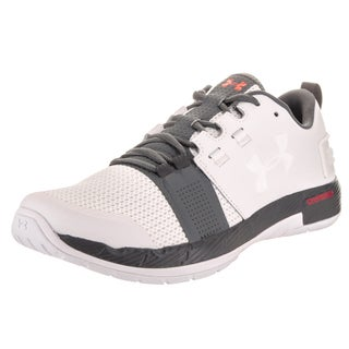 Under Armour Men's Commit Tr White Synthetic Leather Training Shoe