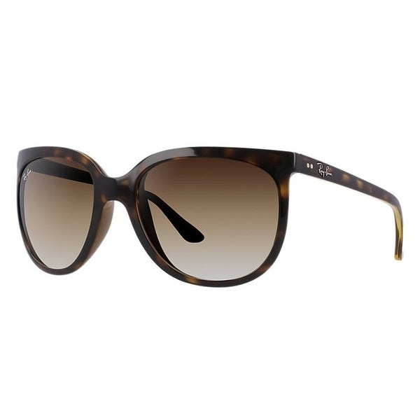 daa040358d Ray-Ban RB4126 710 51 Cats1000 Tortoise Frame Light Brown Gradient 57mm  Lens Sunglasses