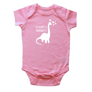 Rocket Bug 'My Aunt is Dinomite' Baby Bodysuit (5 options available)