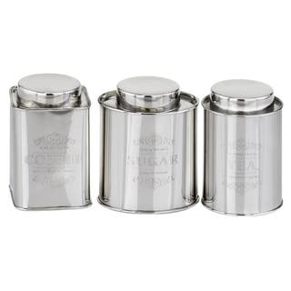 3-Piece Stainless Steel Coffee, Tea & Sugar Canisters|https://ak1.ostkcdn.com/images/products/14330643/P20909707.jpg?impolicy=medium