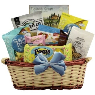 Healthy Easter Wishes Gourmet Sugar-free Gift Basket