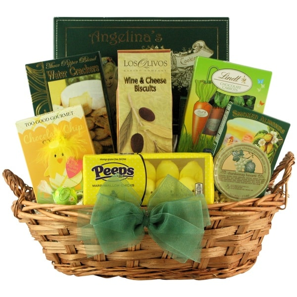 Easter wishes gourmet easter gift basket free shipping today easter wishes gourmet easter gift basket negle Image collections