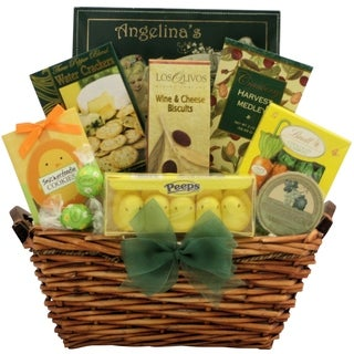 Easter Wishes Gourmet Easter Gift Basket
