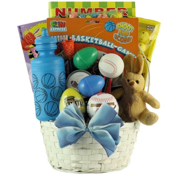 Egg streme boys sports themed easter gift basket free shipping egg streme boyx27s sports themed easter gift basket negle Image collections