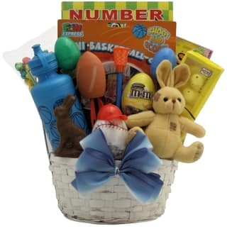 Gift baskets for less overstock egg streme boys sports themed easter gift basket negle Image collections