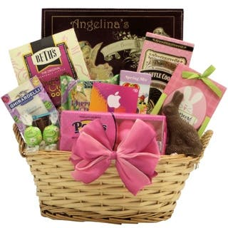 Easter gift baskets for less overstock itunes cool easter treats teen tween easter gift basket negle Image collections