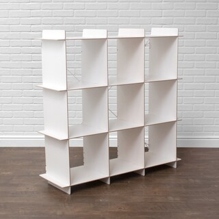Modern 9 Cubby Large Cube Storage Bookcase