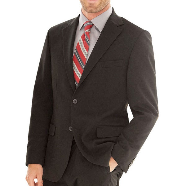 Affinity Apparel Mens Two-button Blazer