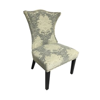 Linda Cream Portofino Chenille Fabric Chair