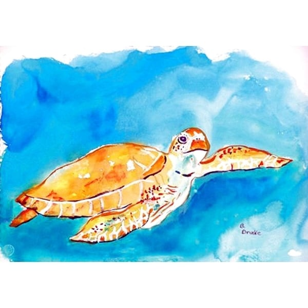 Brown Sea Turtle Place Mat Set of 4. Opens flyout.