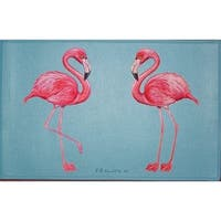 Pink Flamingos Place Mat Set of 4