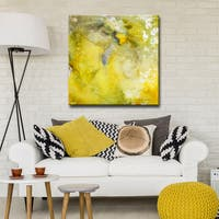 Ready2HangArt 'Glimmer I' by Norman Wyatt, Jr. Canvas Art