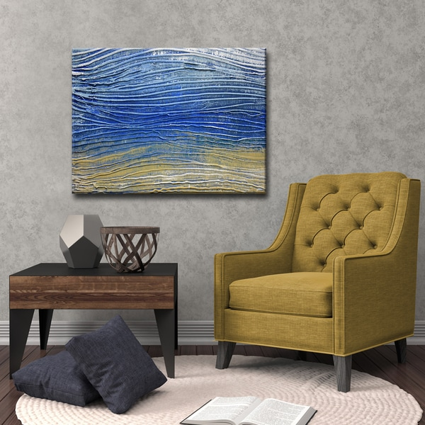 Ready2HangArt 'Desert Midnight Calm' by Norman Wyatt, Jr. Canvas Art