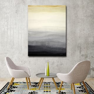 Shades of Grey' by Norman Wyatt, Jr. Wrapped Canvas Wall Art