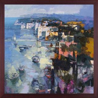 Alex Bertaina 'Sardegna Nel Cuore' Fine Art Print on Canvas