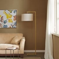 Madison Park Delta Gold Metal Floor Lamp