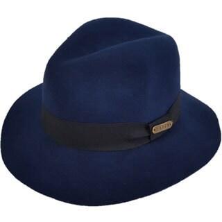 Hatch Gangster Wool Felt Packable Fedora Hat