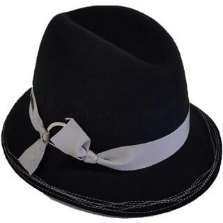 Hatch Inspector Wool Felt Packable Fedora Hat