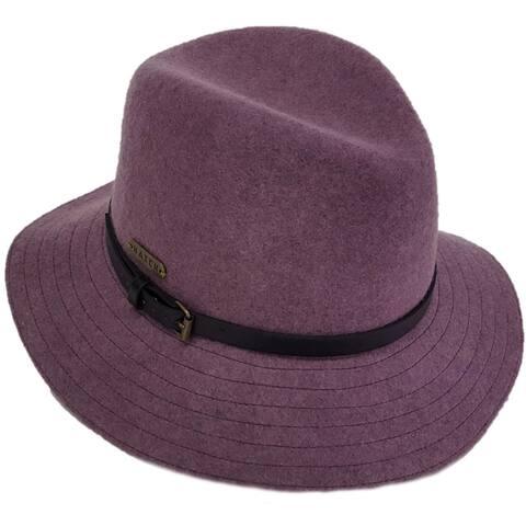 Hatch Guide Wool Felt Packable Fedora Hat
