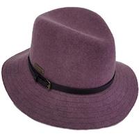 Shop Hatch Back Band Packable Wool Felt Fedora Hat - Free Shipping ... 46a4de295b53