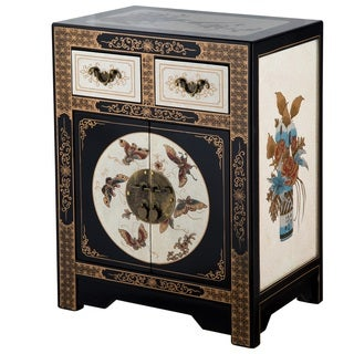 NES Handmade Oriental Butterfly Side Table (China)