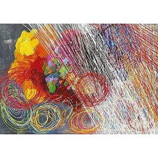 Cyclonic Abstraction II Original Hand Painted Wall Art
