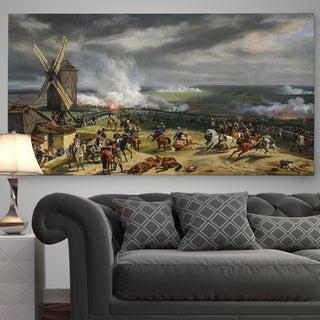 Wexford Home 'Battle of Valmy' Premium Gallery Wrapped Canvas Wall Art