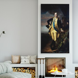 'George Washington' Premium Gallery Wrapped Canvas