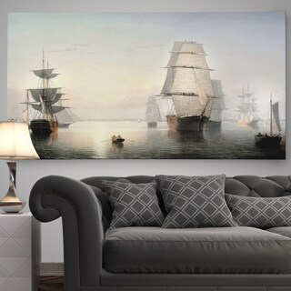 'Boston Harbor' Premium Gallery Wrapped Canvas (3 options available)