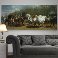 'The Horse Fair' Premium Gallery Wrapped Canvas
