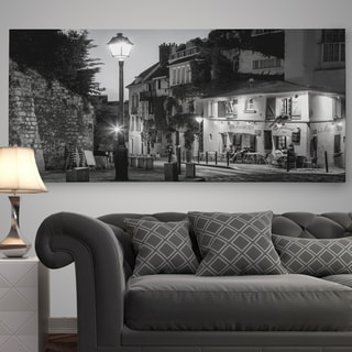 'Twilight at Maison Rose' Premium Gallery Wrapped Canvas