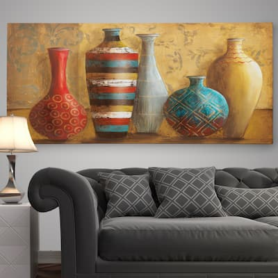 'Vessels of Tabuk' Premium Gallery Wrapped Canvas