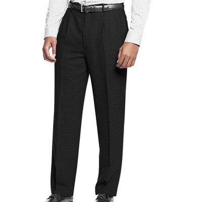 Affinity Apparel Men's Pleated Pants