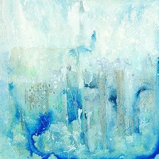 Plunge into Blue Original Hand Painted Wall Art