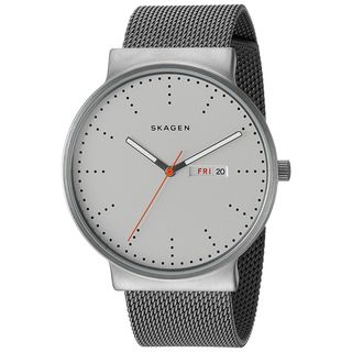Skagen Men's SKW6321 'Ancher' Grey Stainless Steel Watch