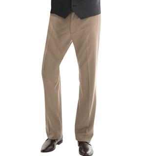 Affinity Apparel Men's Single-Pleat Pants