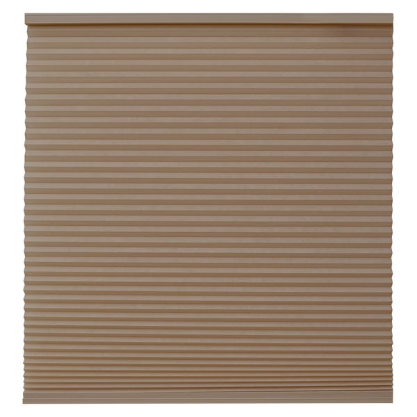 Keystone Fabrics Light Filtering Cordless Celluar Shade Chestnut 18 to 30 inch wide x 72 inch drop