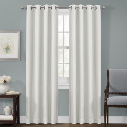 Maytex Smart Curtains Sheridan Blackout 84-inch Window Panel